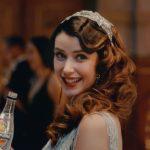 オランジーナスパークリングのCMの女性は誰?美人のドレス姿にカチンコチン?