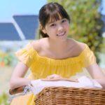 ビオレUVのCMの可愛い女性は誰?黄色の服で自転車に乗ってる西野七瀬か?